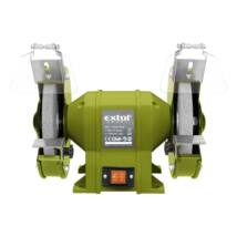 Extol kettős köszörűgép 350W, száraz,200×16×20mm, 2950 ford/perc, P36, P80, 11kg