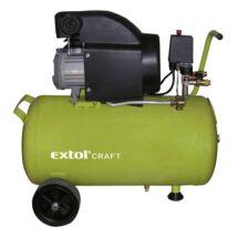 Extol olajos légkompresszor, 1500W, 50l tartály, 8 bar, 208l/min