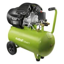 Extol olajos légkompresszor, 2200W, 50l tartály, 8 bar, 412l/min