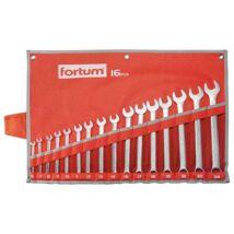 Fortum csillag-villás kulcs klt. 16db, 6-24mm
