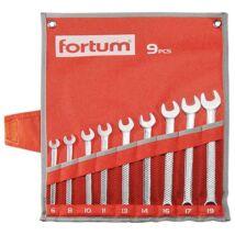 Fortum csillag-villás kulcs klt. 9db 6-19mm