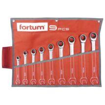 Fortum racsnis csillag-villás kulcs klt. 9db  8-19 mm