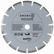 Gyémánttárcsa betonhoz téglához 125x22mm Dronco ST7