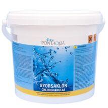 Gyorsan oldódó klór medence vegyszer Pontaqua Gyorsaklór 10kg