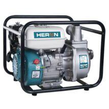 """Heron benzinmotoros vízszivattyú 5,5 LE,max.600l/min, max.7m szívómélység,max.28m nyomómagasság, 50mm (2"""") csőátmérő (EPH-50)"""