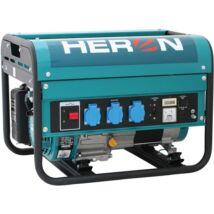 Heron benzinmotoros áramfejlesztő, max 2800 VA, egyfázisú (EGM-30 AVR)