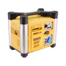 Heron benzinm. áramfejlesztő, 1,0kVA, 230V hordozható, szabályozott digitális kim.(DGI-10SP)