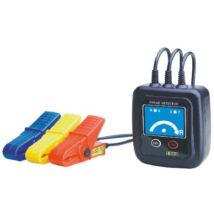 HOLDPEAK 1000 Háromfázisú fázissorrend és forgásirány tesztelő, 60-600VAC, mérővezeték