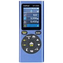 HOLDPEAK 3100S Digitális, lézeres távolságmérő, 2 col LCD, 0.03-100m, memória, terület/térfogat és háromszög