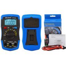 HoldPeak 36K digitális multiméter (VDC, VAC, ADC, AAC, ellenállás, kapacitás, frekvencia, dióda)
