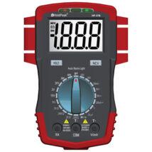 HoldPeak 37B digitális multiméter (VDC, VAC, ADC, AAC, ellenállás, kapacitás, hőmérséklet, dióda)