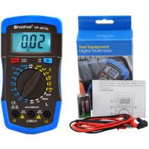 HoldPeak 4070L digitális multiméter (ellenállás, kapacitás, induktivitás mérés, tranzisztor hFE teszt)