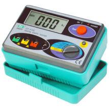 HOLDPEAK 4100 Digitális földelési ellenállás mérő, 0-2000ohm, 0-30V mérési feszültség, földelőrúd