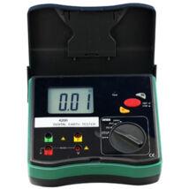 HOLDPEAK 4200 Digitális földelési ellenállásmérő,0-2000ohm,0-30V mérési feszültség,földelőrúd,hord táska