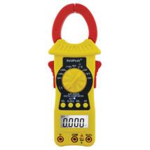 HOLDPEAK 6205 Digitális lakatfogó, multiméter, nagyáramú, VDC, VAC, ADC, AAC, ellenállás, kapacitás