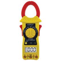 HOLDPEAK 6206 Digitális lakatfogó, multiméter, nagyáramú, VDC,VAC, AAC, ellenállás, szakadás.