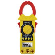 HOLDPEAK 6207 Digitális lakatfogó, multiméter, nagyáramú, VDC, VAC, ADC, AAC, ellenállás, kapacitás, hőmérséklet