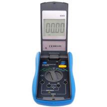 HOLDPEAK 6303 Digitális szigetelési ellenállásmérő, 250-1000VAC, 0.1Mohm-2000Mohm, hord táska