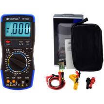 HoldPeak 760A digitális multiméter (VAC, VDC, AAC, ADC, ellenállás, kapacitás, dióda, hFE, szakadás)