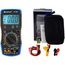 HoldPeak 760B digitális multiméter (VAC, VDC, AAC, ADC, ellenállás, kapacitás, frekvencia, hőmérséklet)