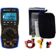 HoldPeak 760D digitális multiméter (VAC, VDC, AAC, ADC, frekvencia, kapacitás, bargraph, TRMS)