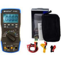 HoldPeak 760G digitális multiméter (frekvencia, kapacitás, hőmérséklet, hFE, dióda, szakadás)