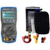 HoldPeak 760H digitális multiméter (frekvencia, kapacitás, hőmérséklet, hFE, TRMS)