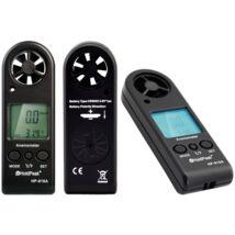HOLDPEAK 816A Digitális szélerősség és hőmérsékletmérő, 0-30m/sec, -10°C-45°C