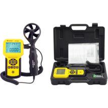 HOLDPEAK 836A Digitális szélerősség, és hőmérsékletmérő, 0-45m/sec, 0°C-45°C