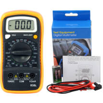 HoldPeak 838L digitális multiméter (ellenállás, hőmérséklet, dióda, szakadás, tranzisztor hFE.)