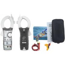 HOLDPEAK 850B Nagyáramú (400/2000A) lakatfogó, VDC, VAC, ADC, AAC, ellenállás, kapacitás, frekvencia, 2 kijelző.