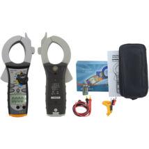 HOLDPEAK 850D Nagyáramú (200/2000A) lakatfogó, VDC, VAC, ADC, AAC, ellenállás, kapacitás, frekvencia, 2 kijelző