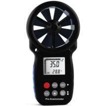 HOLDPEAK 866B Digitális szélerősség és hőmérsékletmérő, Beaufort skála, 0.3-30m/sec, -10°C-45°C