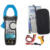 HOLDPEAK 870B Digitális lakatfogó, VDC, VAC, AAC, ellenállás, kapacitás, hőmérséklet, 2 kijelző