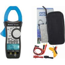 HOLDPEAK 870C Digitális lakatfogó, VDC, VAC, ADC, AAC, ellenállás, kapacitás, hőmérséklet, 2 kijelző