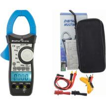 HOLDPEAK 870D Digitális lakatfogó, VDC, VAC, ADC, AAC, ellenállás, kapacitás, frekvencia, 2 kijelző