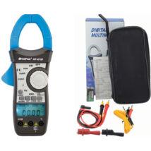 HOLDPEAK 870F Digitális lakatfogó, multiméter, VAC, AAC, teljesítmény, fázisszög, frekvencia, TRMS