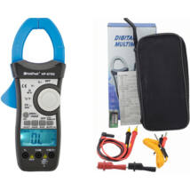 HOLDPEAK 870G Digitális lakatfogó, VDC, VAC, AAC, ellenállás, hőmérséklet, dióda, 2 kijelző