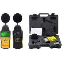 HOLDPEAK 882A Digitális zajszintmérő, 30-130dBA, 35-130dBC, számjegyes és bargraph megjelenítés