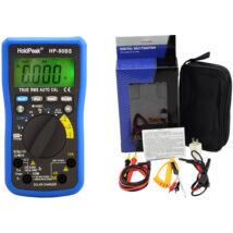 HoldPeak 90BS digitális multiméter (ellenállás, kapacitás, frekv.,TRMS, napelemes)