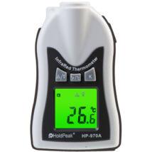 HOLDPEAK 970A Kézi, infravörös hőmérsékletmérő, -30°C/+275°C, kijelzés C°-ban és F°-ban