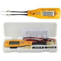 HOLDPEAK 990B SMD teszter, multiméter, ellenállás (400ohm-40Mohm), kapacitás (4nF-200uF), zener