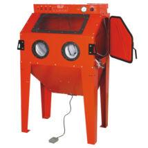 Homokfúvó kabin porelszívós ipari 350L / 3-8 bar / 100x61x163cm