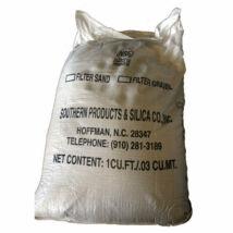 Homokfúvó homok (zsákolt) 0,7-1,2mm 25kg