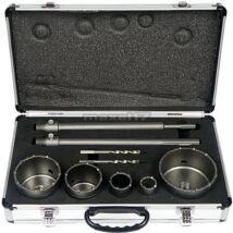 Geko koronafúró készlet, SDS-Plus és SDS-MAX, 30-100mm- Akciós termék