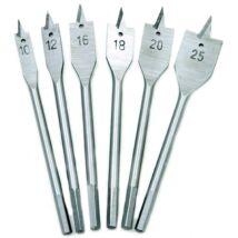 Fafúró készlet 6db-os 10-25mm (laposfúró)