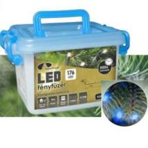 LED karácsonyi kül- és beltéri fényfüzér kék (8 programos)