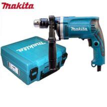 Makita HP1630K ütvefúrógép+koffer 710W, 13mm, 1.9kg