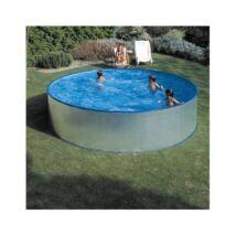 Merevfalú medence kerek 3,6m (kompletten)