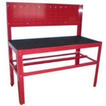 Szerelőasztal - Satupad szerszámosfallal 150x70x150cm / TSG5932B